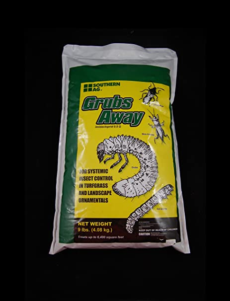 Amazon Grubs Away Imidacloprid 05G Insect Control 9 Pounds