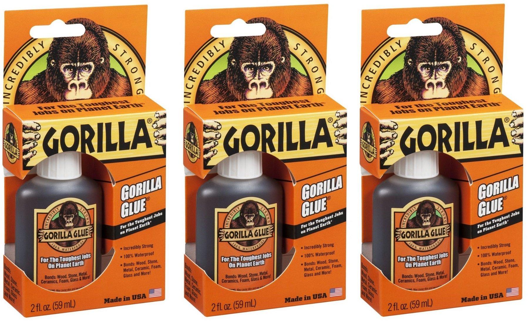 Original Gorilla Glue 2 Ounces (Pack of 3)