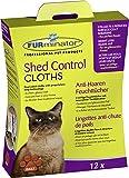 FURminator Shed Control Cloths Anti-Haaren Feuchttücher, entfernt lose Tierhaare vom Fell sowie Kleidung und Möbeln