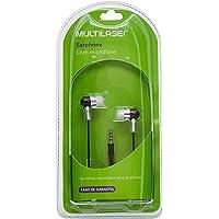 Fone de Ouvido Auricular com Microfone P2, Multilaser PH059