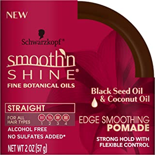 product image for Smooth 'n Shine Straight Edge Smoothing Pomade for Straight Hair, 2 Ounces