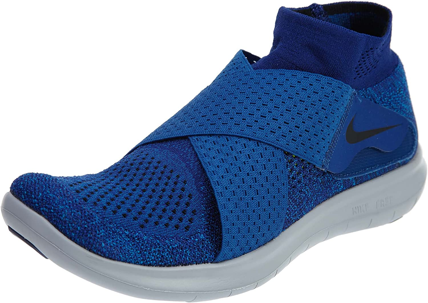 Nike Free RN Motion FK 2017, Zapatillas de Trail Running para Hombre, Azul (Binary Blue/Black/Obsidian/Gym Blue 401), 45.5 EU: Amazon.es: Zapatos y complementos