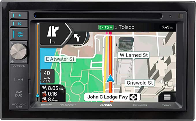 Jensen VX7020N 6.2-inch LED Backlit LCD Multimedia Touch Screen Double DIN Car Stereo