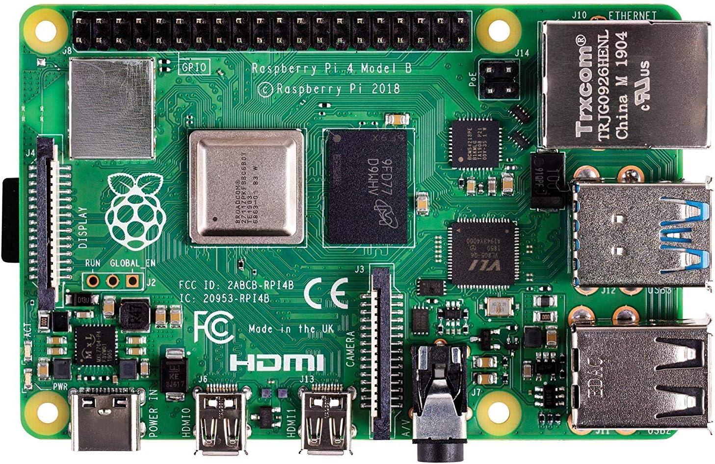 Raspberry Pi 4 Model B 2gb Arm Cortex A72 4x 1 50ghz Computers Accessories