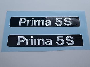 Hercules Prima 5 Trittbrett Schriftzug Verkleidung Sticker Dekor Anziehbild
