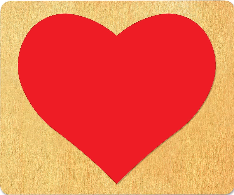 "Ellison SureCut Die 13606-LG, Heart #2, 5 7/8"" x 4 7/8"" x 1"""