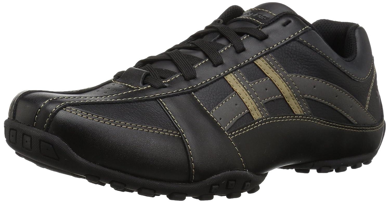 Skechers USA Men's Citywalk Malton Oxford Sneaker,Charcoal