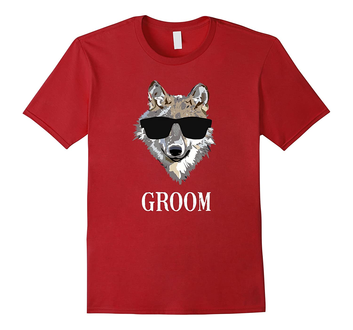 Bachelor Party Groom's Wolf Pack T-Shirt-TH