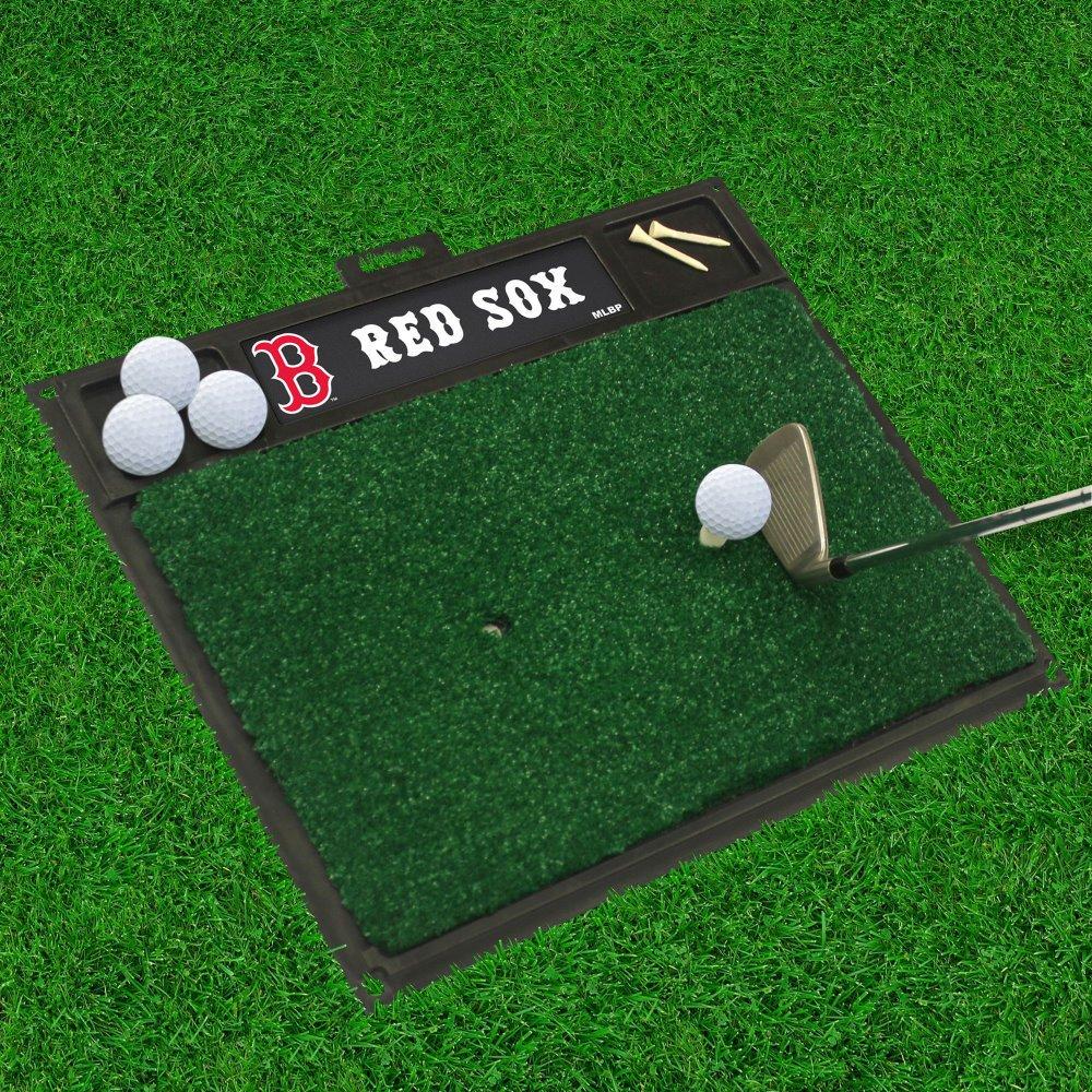 ファンマットMLBボストンレッドソックスゴルフ打つマット20