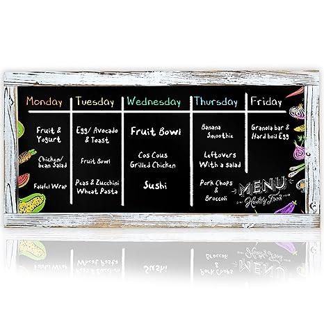 amazon com xl restaurant chalkboard menu blackboard 16 x 32