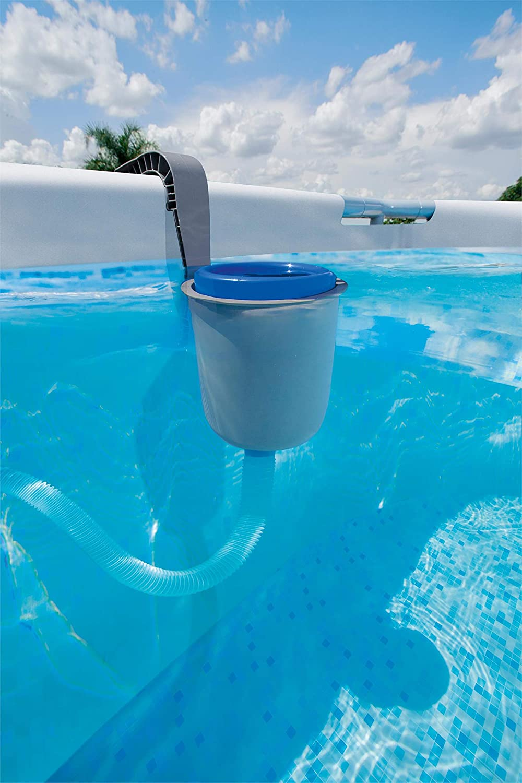 Wowlela Skimmer de Surface Skimmer pour Piscine Hors Sol avec accroche Frame Pool ou Fast Set