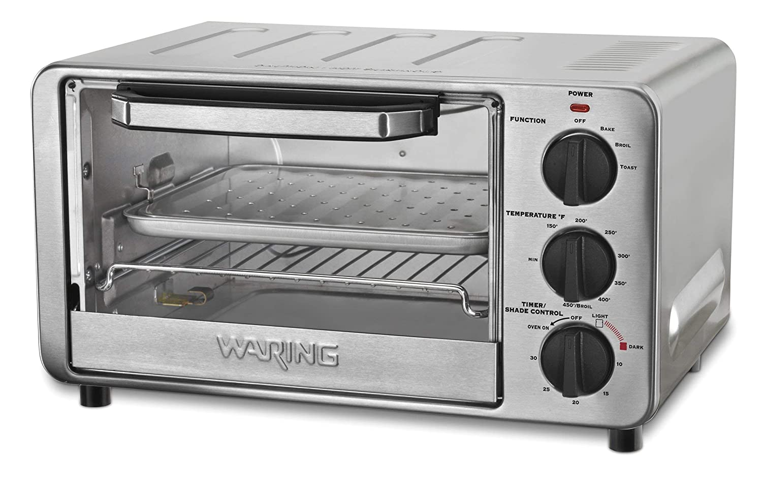 Waring WTO450 Professional Toaster 1500 Watts 1 Year Warranty (Renewed)