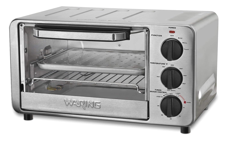 Waring WTO450 Professional Toaster 1500 Watts 1 Year Warranty (Renewed)