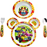 The First Years Disney Baby Mickey Mouse 4-Piece Feeding Set