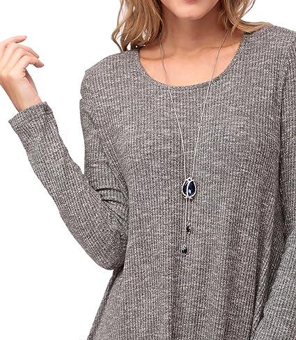 972ad59cb Kranda Womens Tunic Sweater