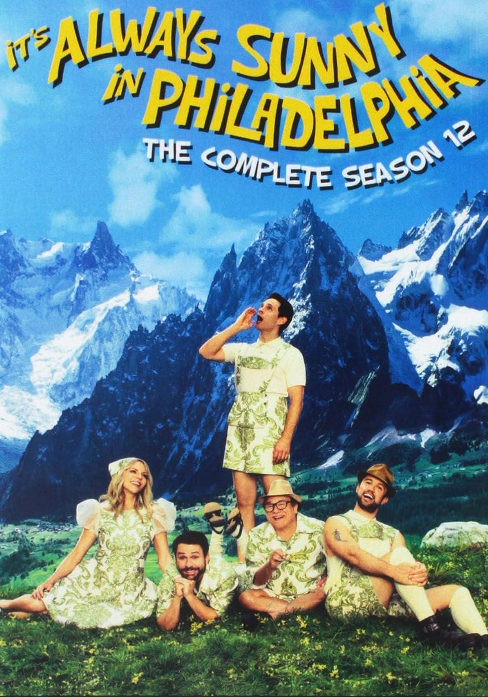 It's Always Sunny in Philadelphia: The Complete Season 12 Charlie Day Glenn Howerton Danny DeVito Fox Mod