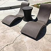 Amazon Com Swimways Terra Sol Sonoma Chaise Pool Lounge