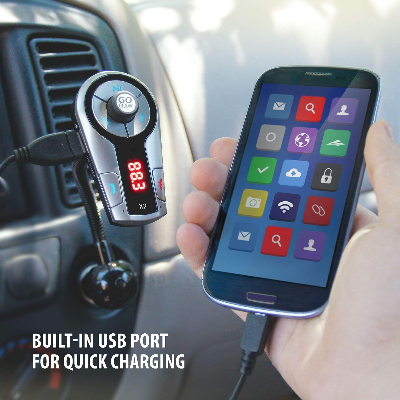 Gogroove Flexsmart X2 Bluetooth Fm Transmitter Für Auto Elektronik