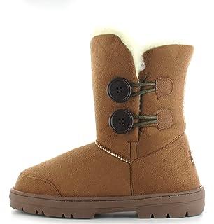 41065c037c7e Ladies Ella Alex Faux Suede Fur Lined Ankle Winter Boots UK 3-8 ...