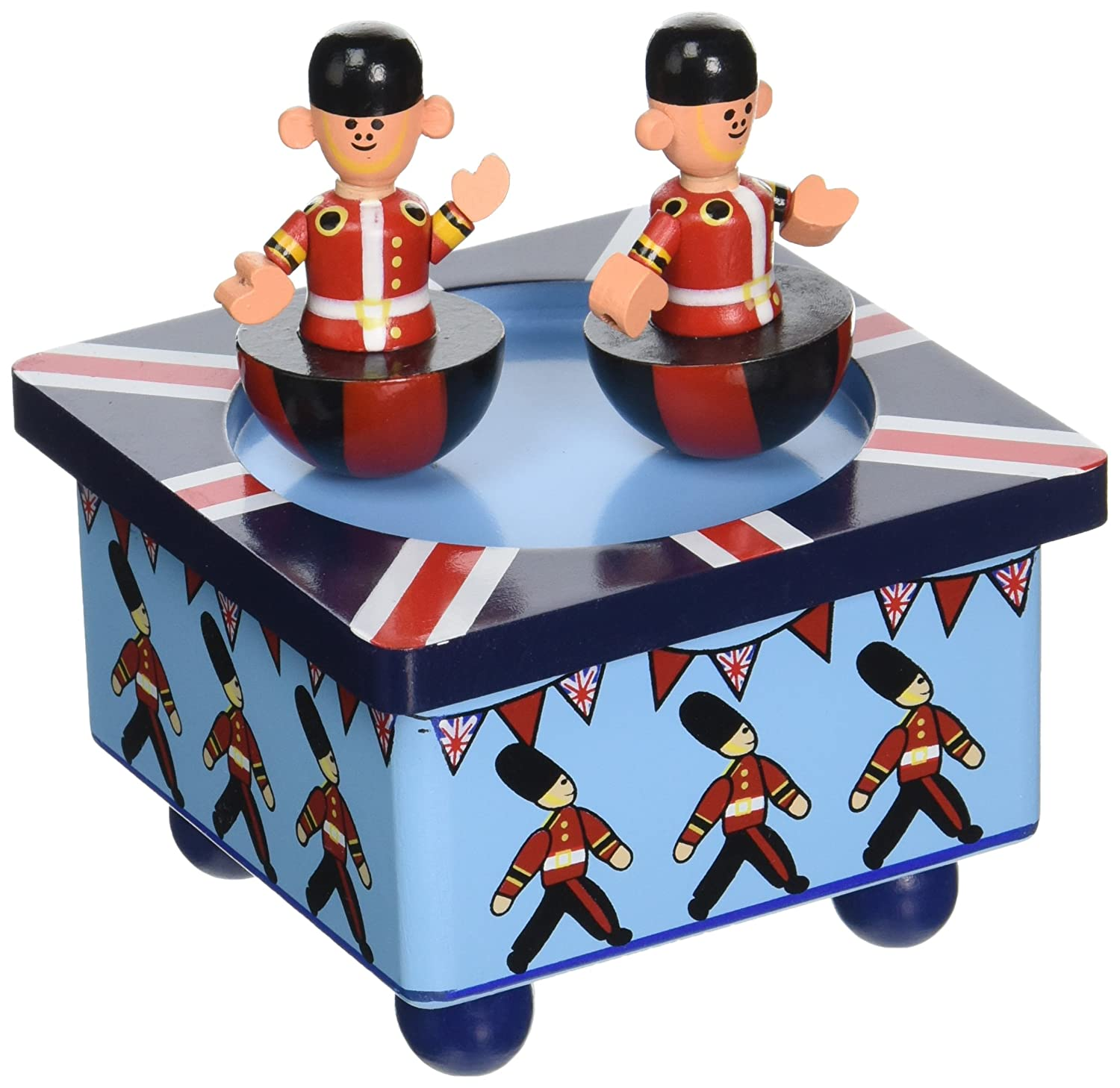 Orange Tree Toys Wooden Soldier Music Box RY91A16311