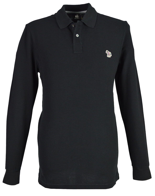 Paul Smith - Camiseta de Manga Larga - para Hombre Negro Negro X ...