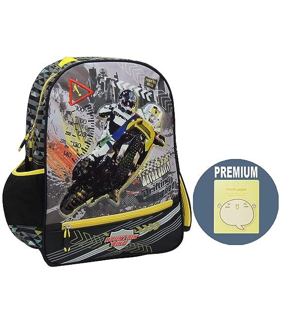 Maxpero Original Casual Backpack School Bag Travel Daypack Bookbags for Boys//Girls Students Kids Black