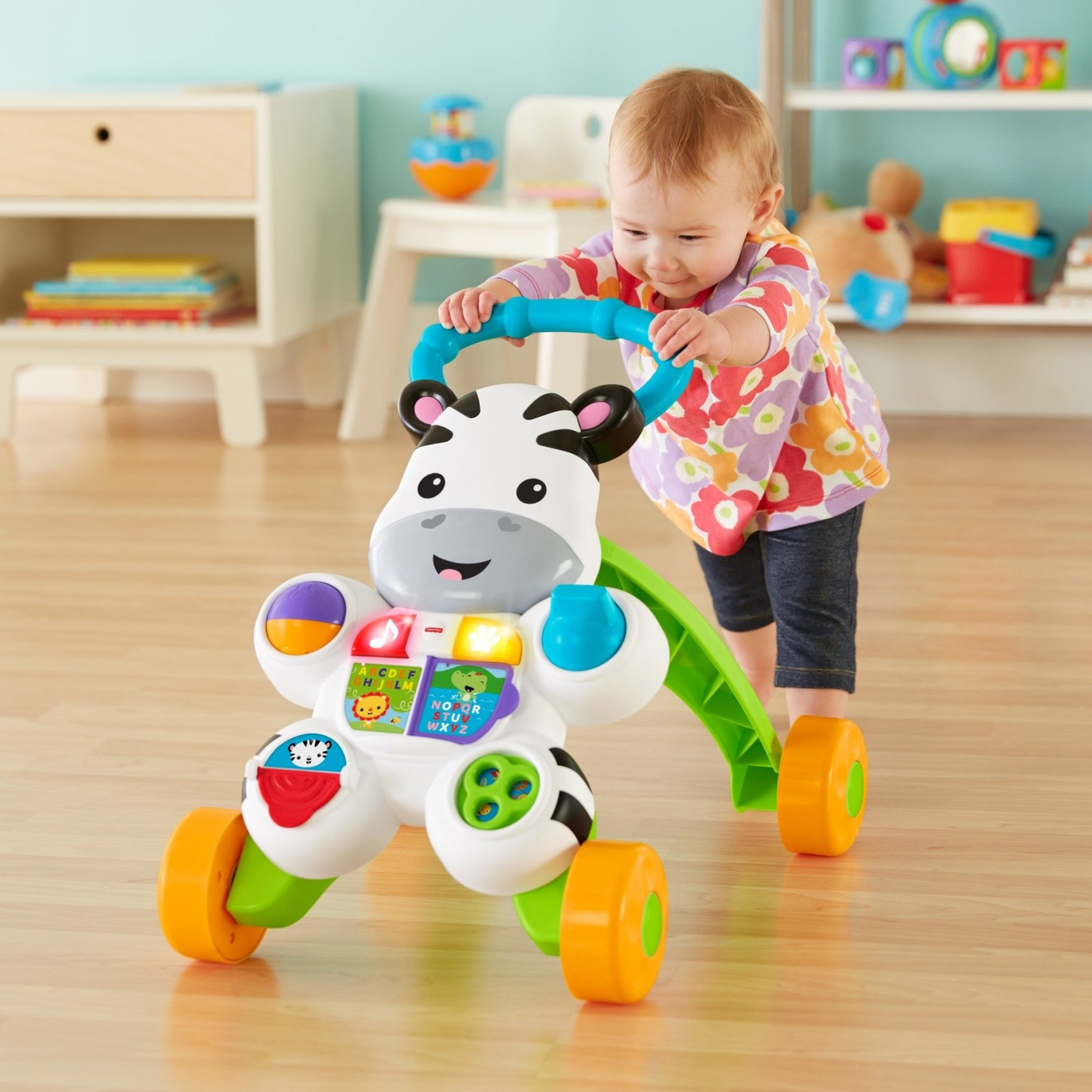 Fisher-Price Learn with Me Zebra Walker by Fisher-Price (Image #12)