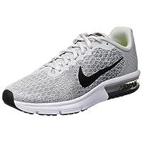Nike Air Max Sequent 2, Chaussures de Running Garçon, Gris/Noir