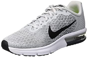 innovative design e9dc2 f2bd2 Nike Air Max Sequent 2 (GS) Chaussures de Running Compétition garçon, Gris (