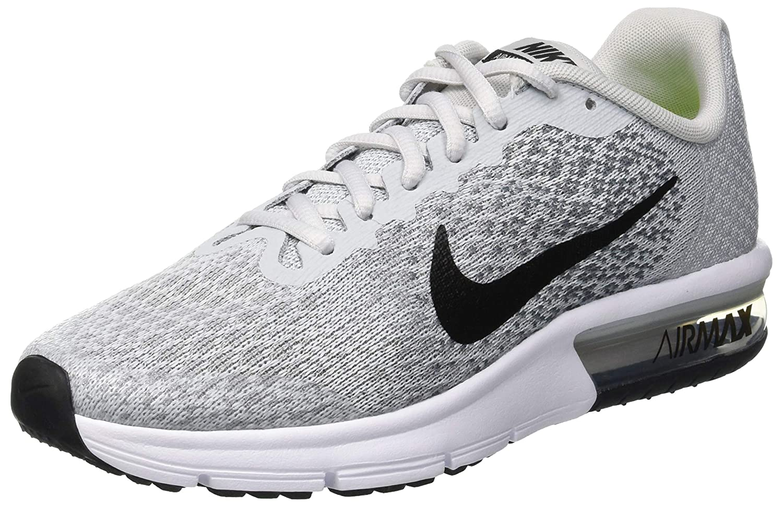 Running – Nike Air Max Sequent 2 Womens BlackDark GreyWolf GreyWhite