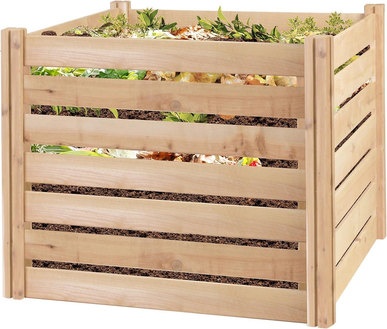 Greenes Fence RCCOMP48 Cedar Wood Composter, 48