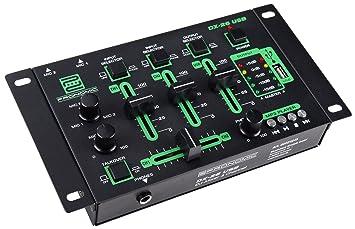 Pronomic dx 26 usb table de mixage pour dj: amazon.fr: instruments