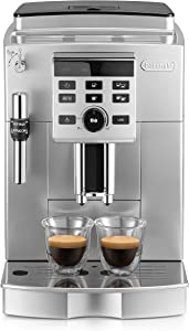 DeLonghi Magnifica S Cappuccino Fully Automatic Espresso Machine with Stainless Steel Finish