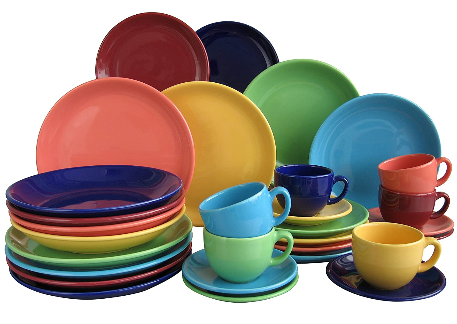 Creatable Top Dinner Ware Set, Stone, Multi-Colour, 42 x 28 x 40 cm 14011