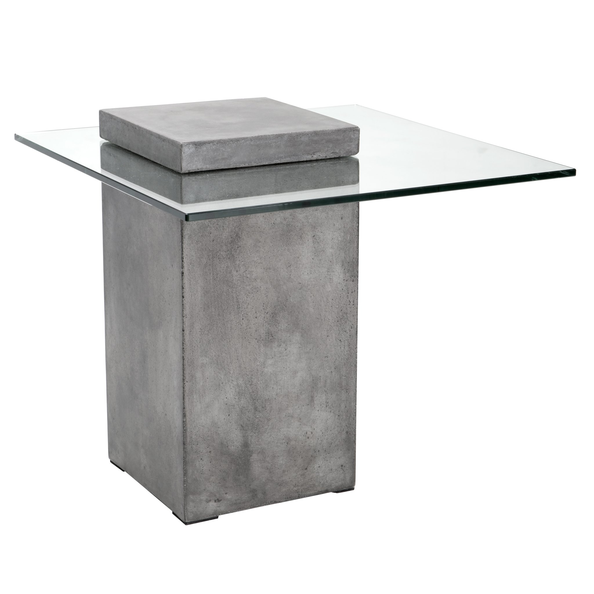 Sunpan Modern Grange End Table, Anthracite Grey by Sunpan Modern