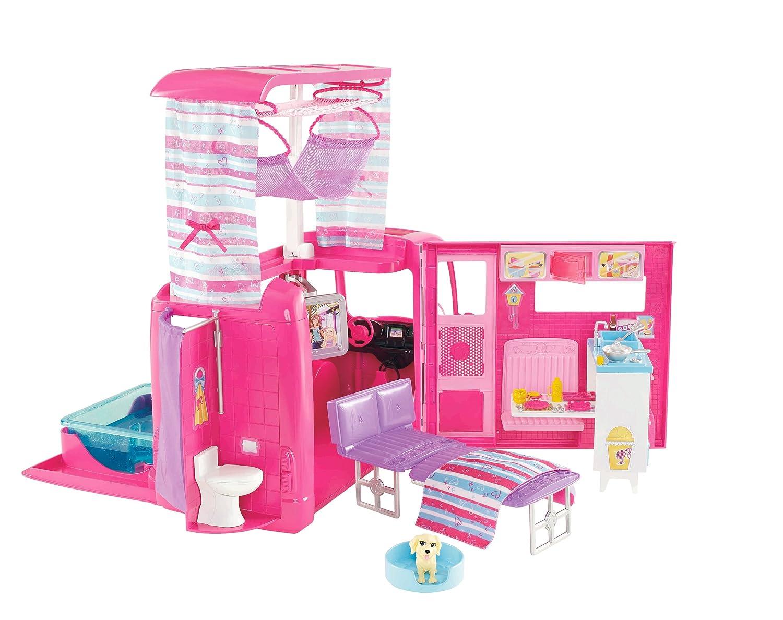 Vasca Da Bagno Barbie : Mattel v6981 barbie camper incl. cucina bagno vasca