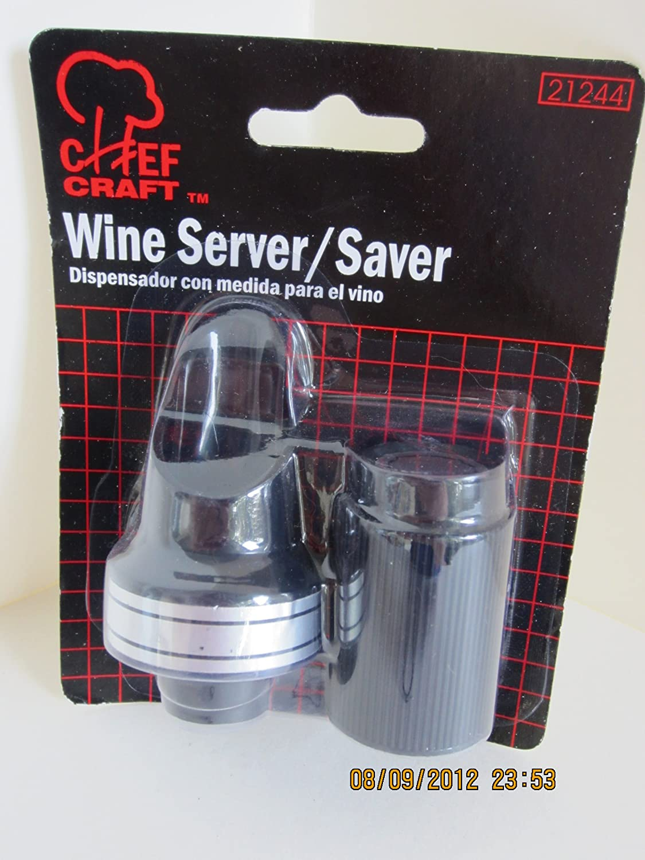 Amazon.com | Chef Craft Wine Server/saver: Wine Accessory Sets: Bar Tools & Drinkware