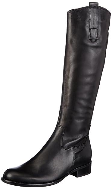 Gabor Shoes Damen Fashion Schlupfstiefel, Schwarz (Schwarz 27), 43 EU