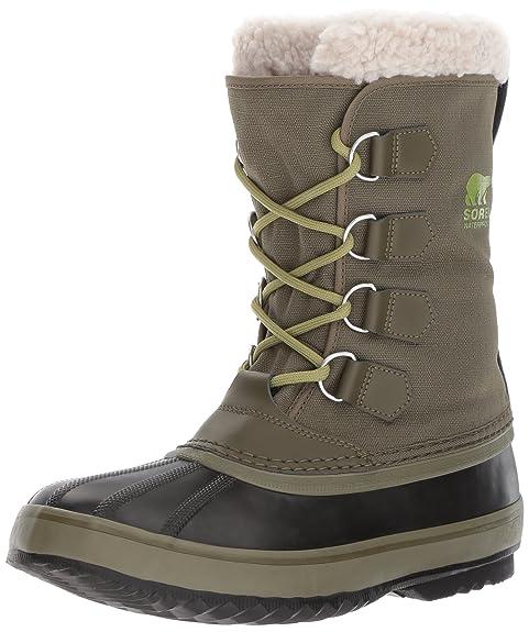 121583b6d9 Sorel Mens 1964 Pac Nylon Nori-Black Snow Boot