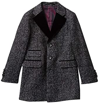 9beda48712dc Amazon.com  Isaac Mizrahi Boy s 2-20 Single Breasted Velvet Lapel ...