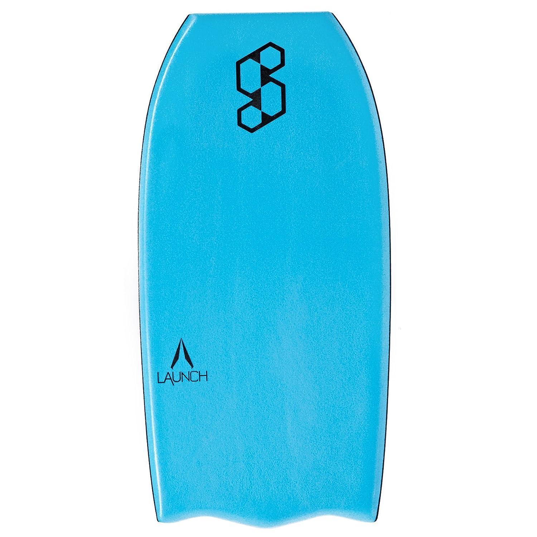 Mike Stewart Launch Tech Delta Tail - Tabla de Bodyboard (38 Pulgadas), Color Azul y Plateado: Amazon.es: Deportes y aire libre