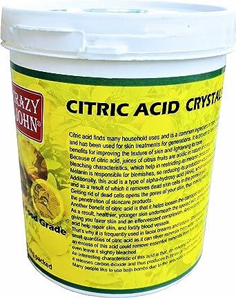 CRAZY JOHN Citric Acid, 1kg Pack