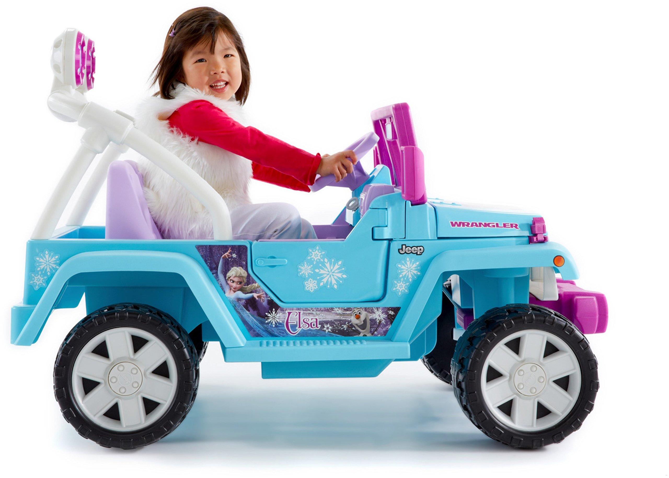 Power Wheels Disney Frozen Jeep Wrangler by Fisher-Price (Image #3)