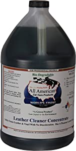 All American Car Care Products Leather Cleaner Concentrate (1 Gallon)