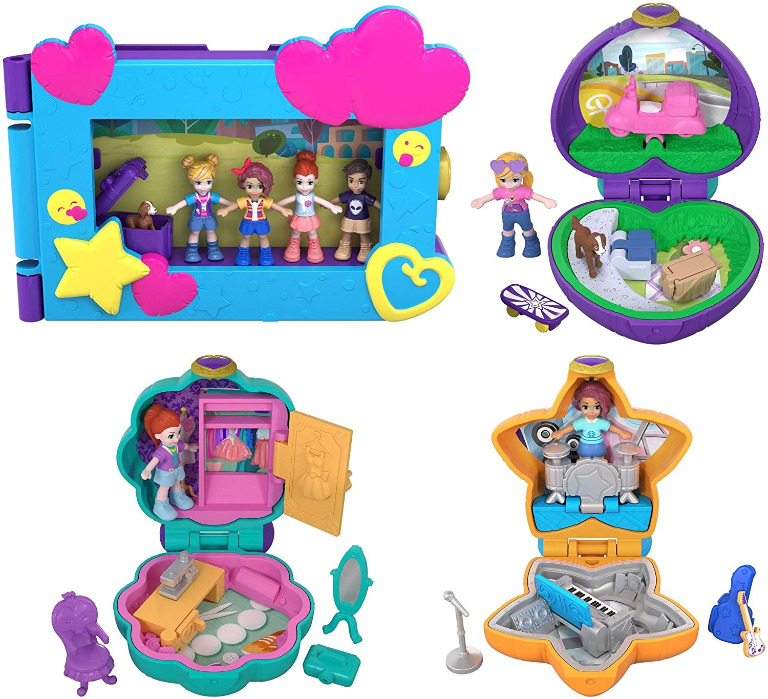 Polly Pocket Micro Value Pack Playset Mattel FXM65