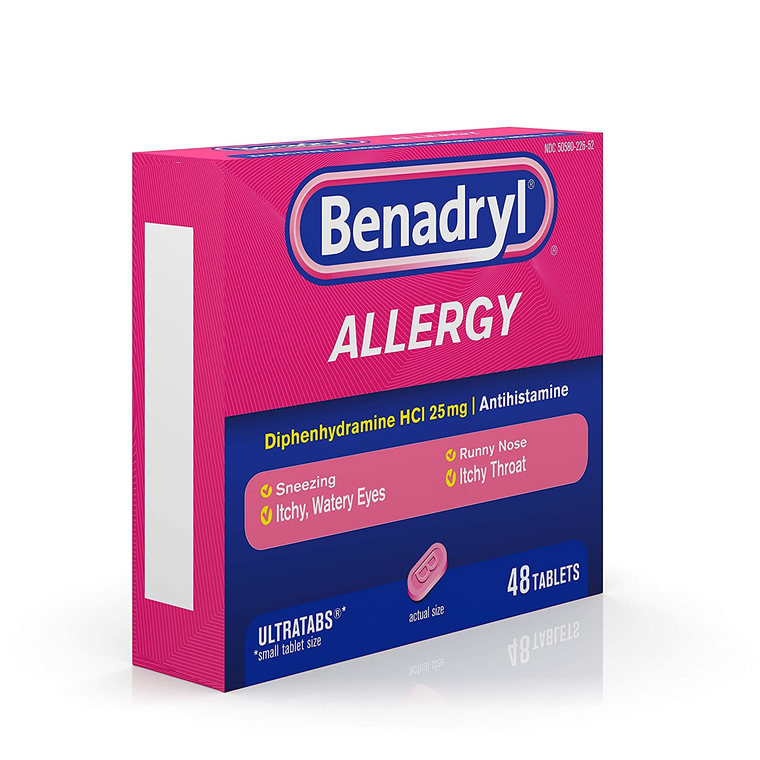 Amazon com: Benadryl Ultratabs Antihistamine Allergy
