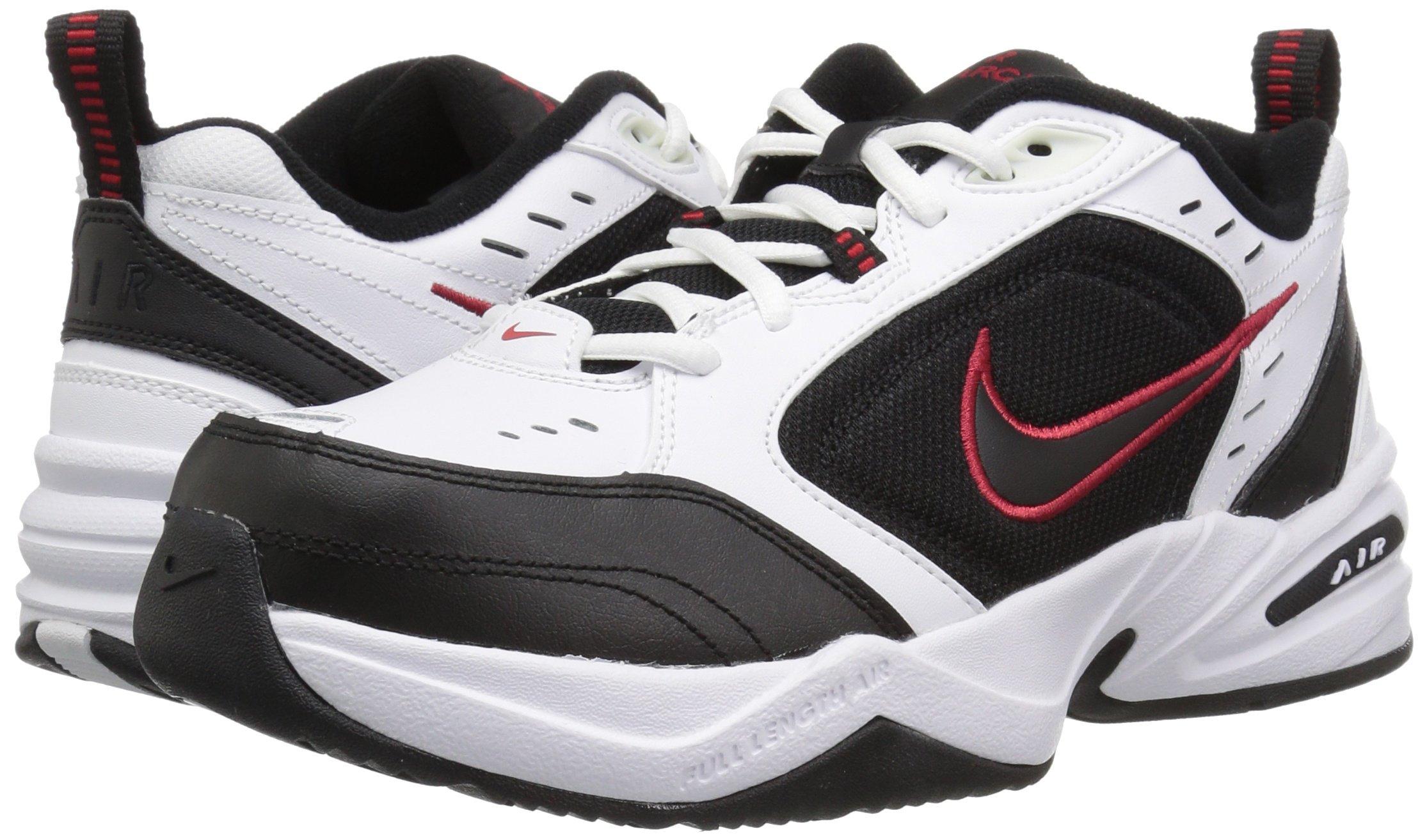 Nike Men's Air Monarch IV Cross Trainer, White/Black, 7.0 Regular US by Nike (Image #5)