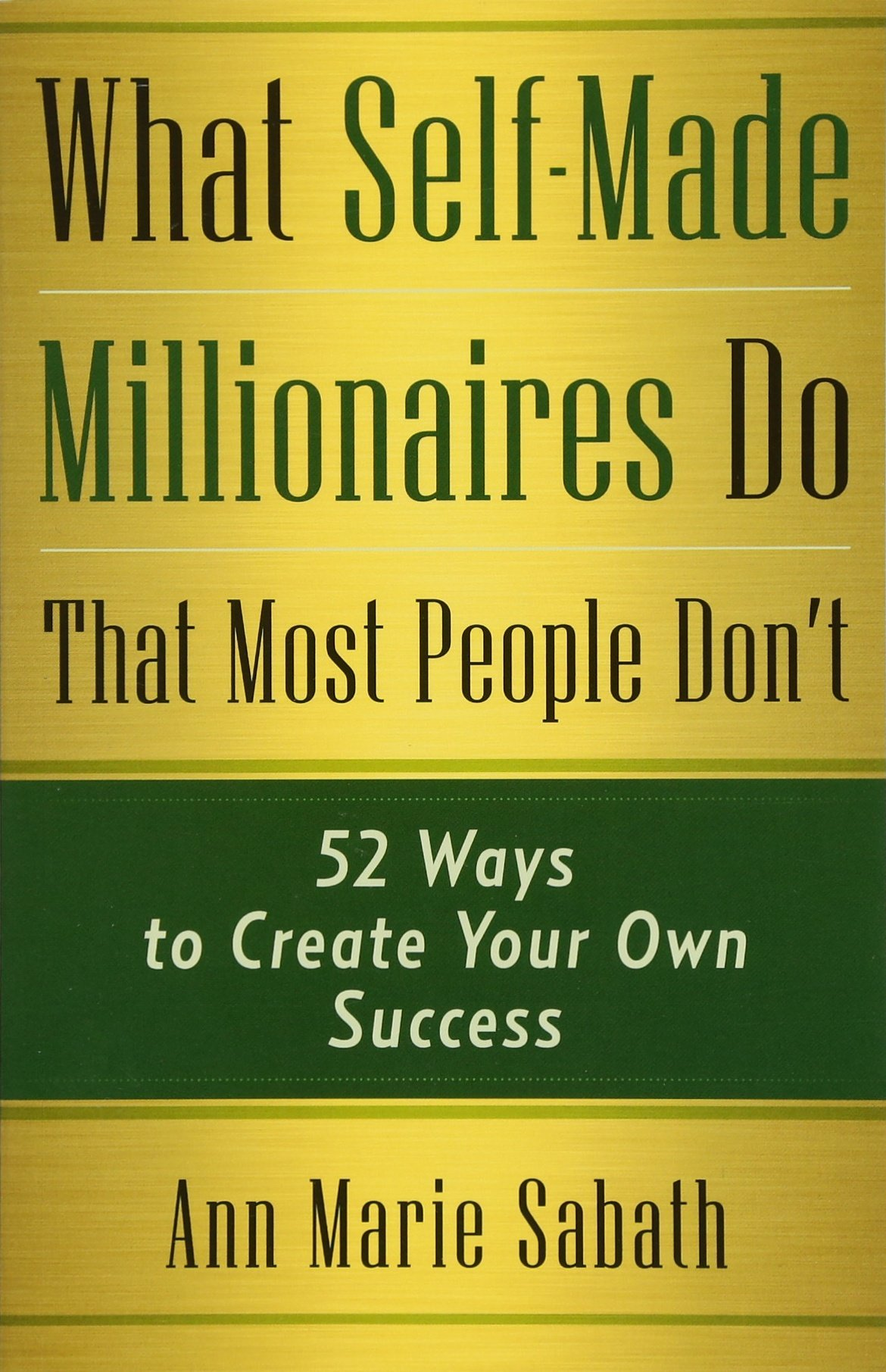 What Self Made Millionaires That People product image