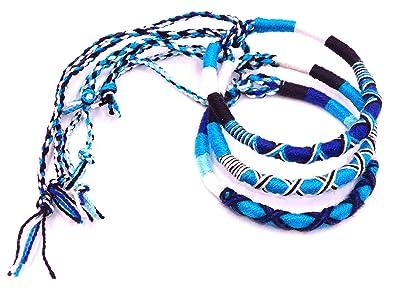 la meilleure attitude c361c 81671 MADE IN ZEN Lot de 3 Bracelet brésilien Amitié Coton ...