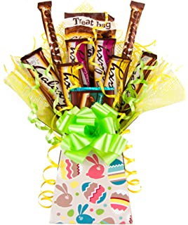 Happy galaxy easter deluxe chocolate hamper including easter galaxy easter edition chocolate bouquet tree explosion gift hamper selection box perfect gift easter negle Image collections